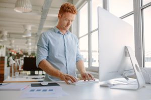 tips for standing at your desk