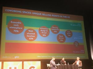 GCUC 2019, coworking stats